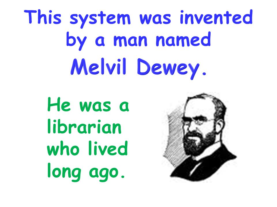 This system was invented by a man named