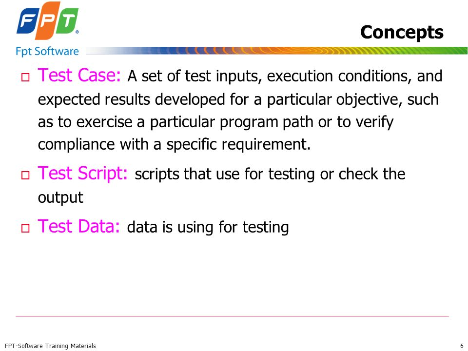 Test Script: scripts that use for testing or check the output