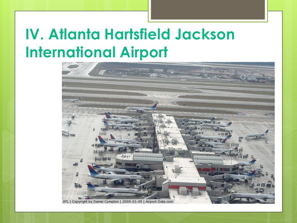IV. Atlanta Hartsfield Jackson International Airport