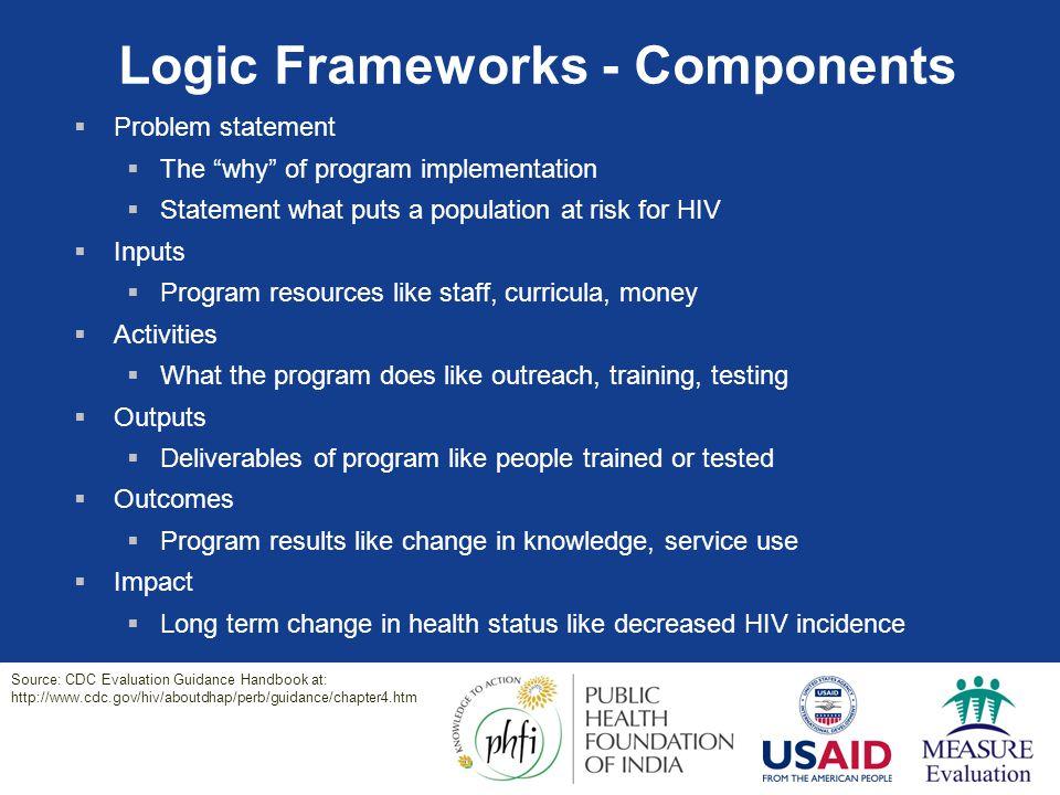 Logic Frameworks - Components