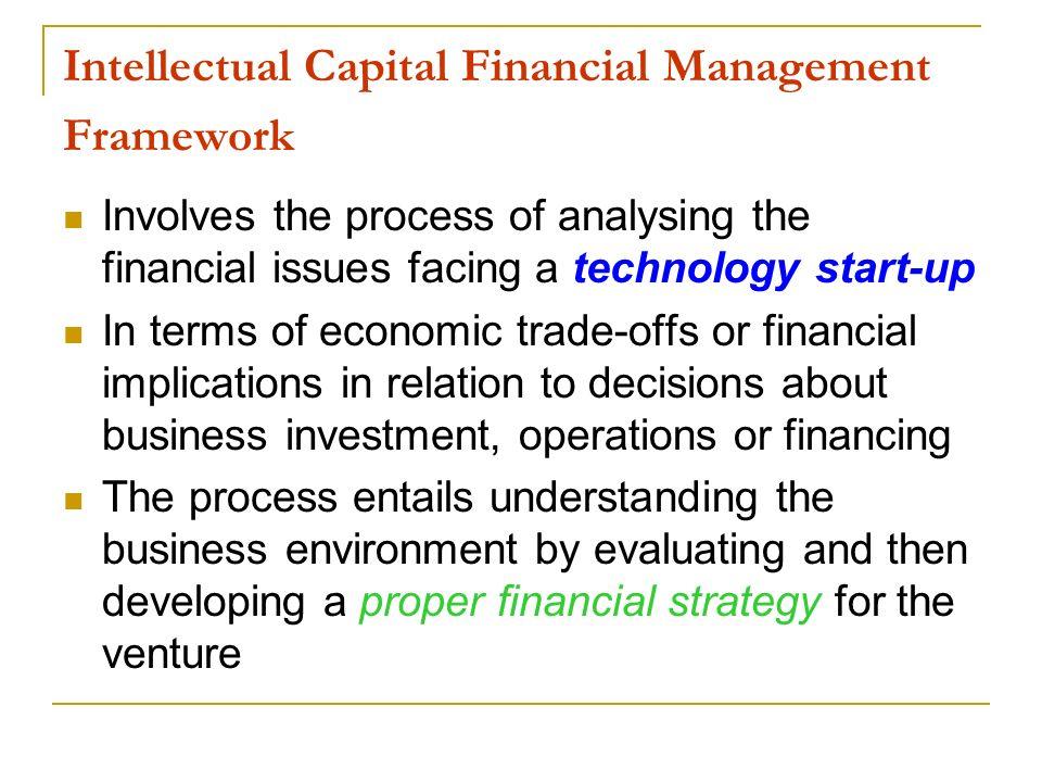 Intellectual Capital Financial Management Framework