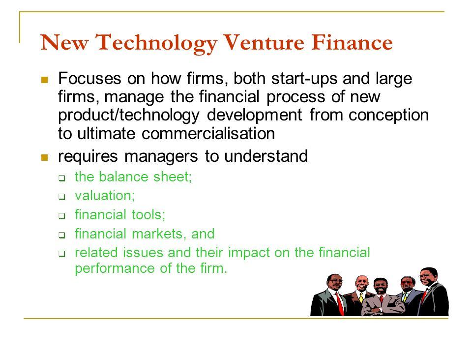 New Technology Venture Finance