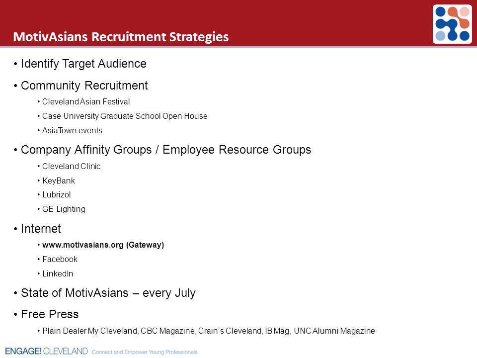 MotivAsians Recruitment Strategies