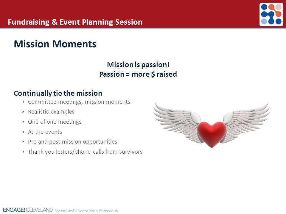 Fundraising & Event Planning Session