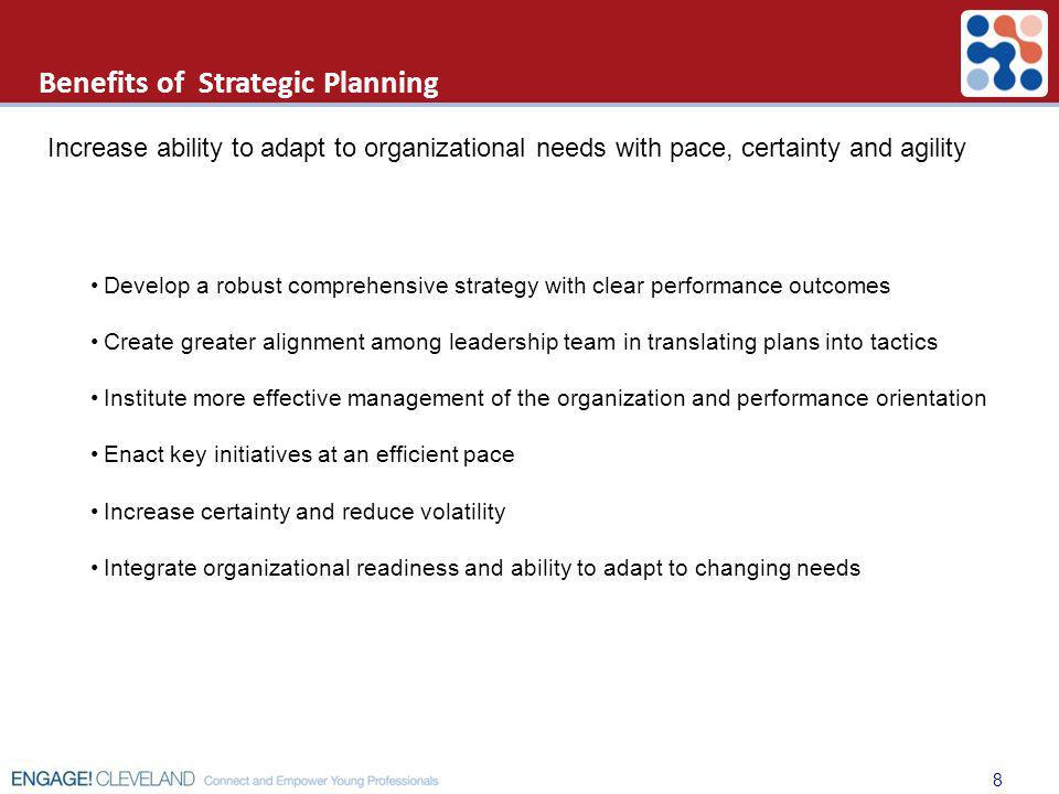 Benefits of Strategic Planning