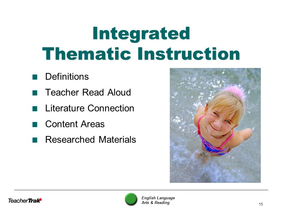 Integrated Thematic Instruction
