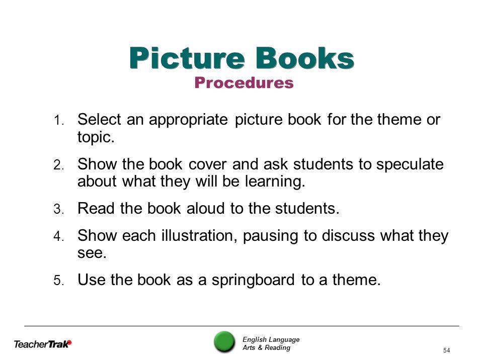 Picture Books Procedures