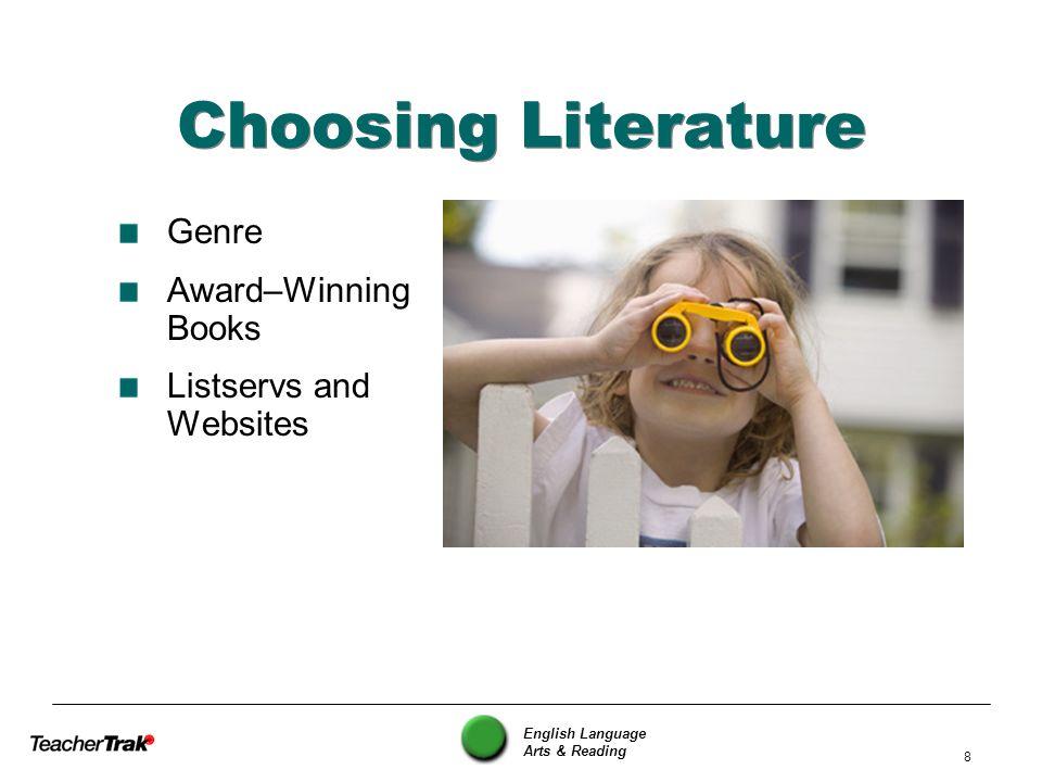 Choosing Literature Genre Award–Winning Books Listservs and Websites