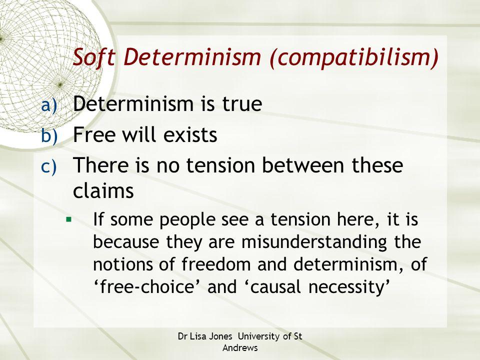 Soft Determinism (compatibilism)