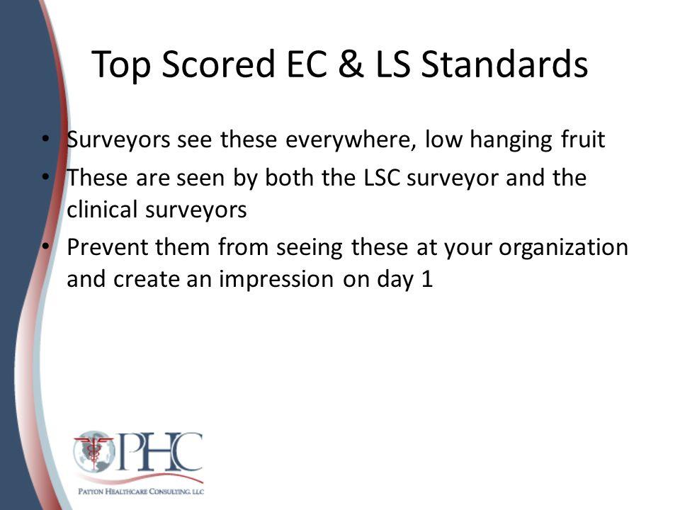 Top Scored EC & LS Standards