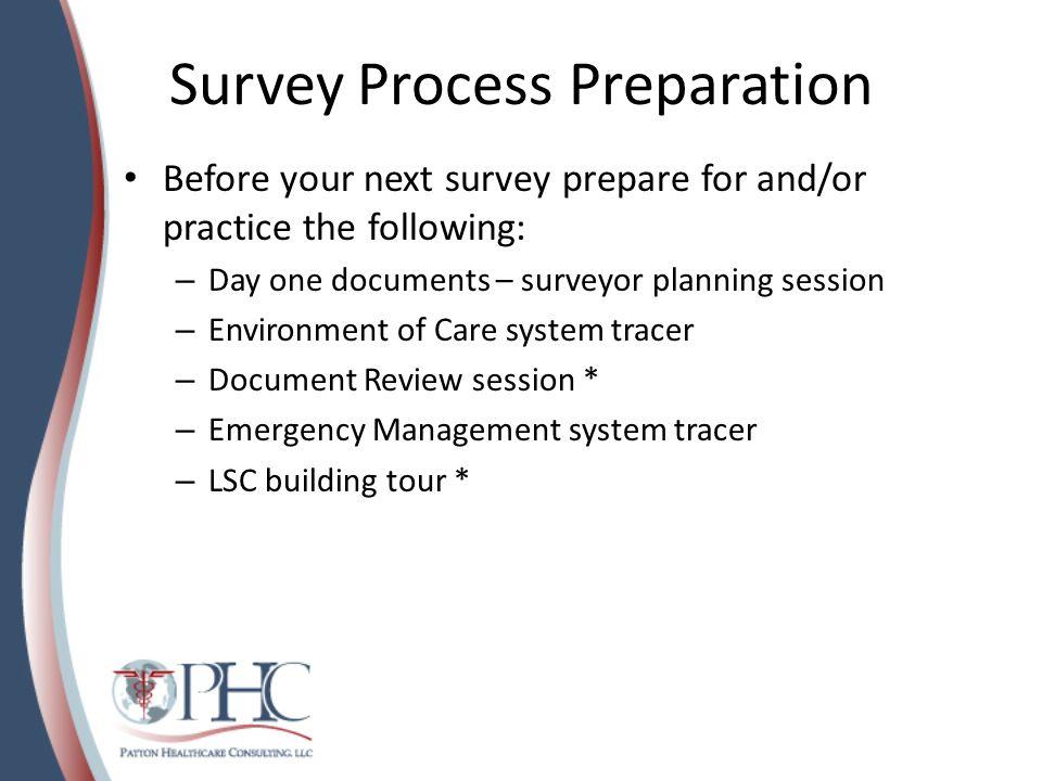 Survey Process Preparation