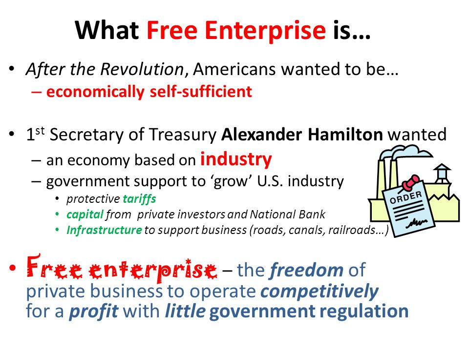 What Free Enterprise is…