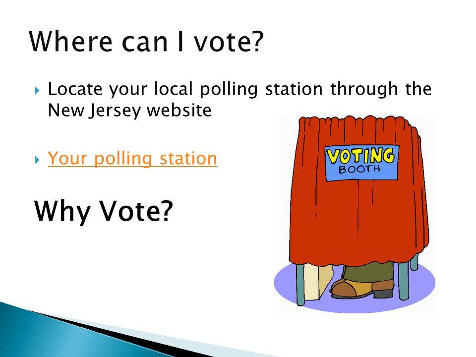 Where can I vote Why Vote