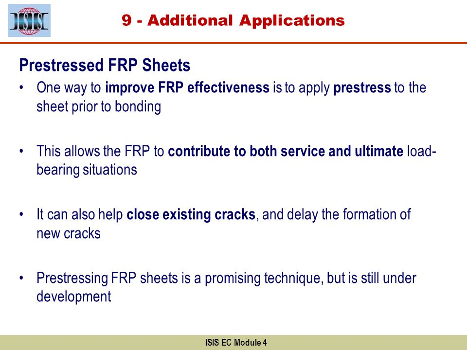 9 - Additional Applications