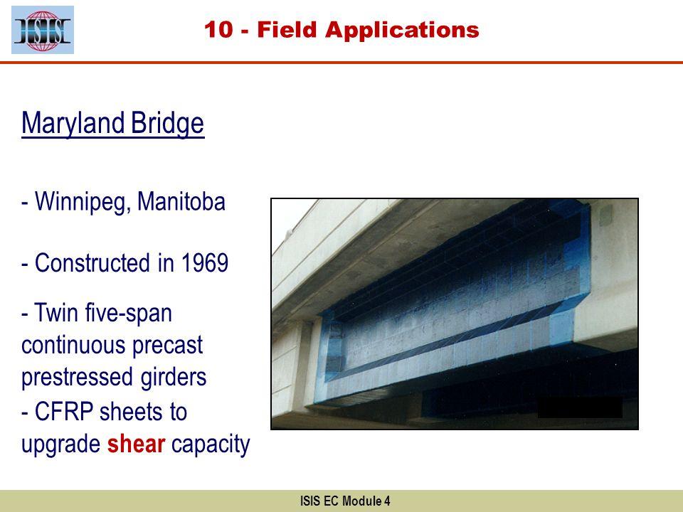 Maryland Bridge - Winnipeg, Manitoba - Constructed in 1969