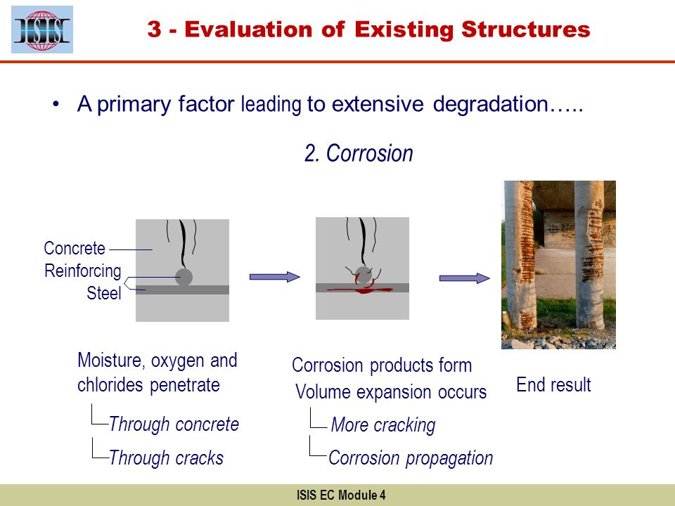 2. Corrosion 3 - Evaluation of Existing Structures