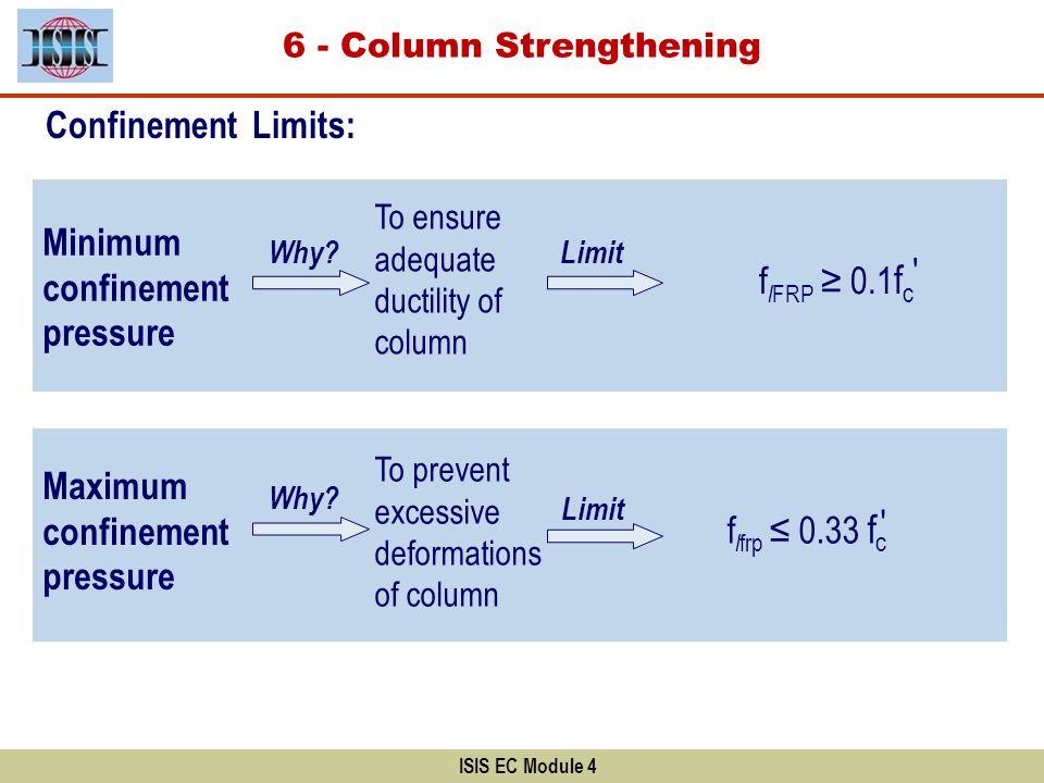 6 - Column Strengthening