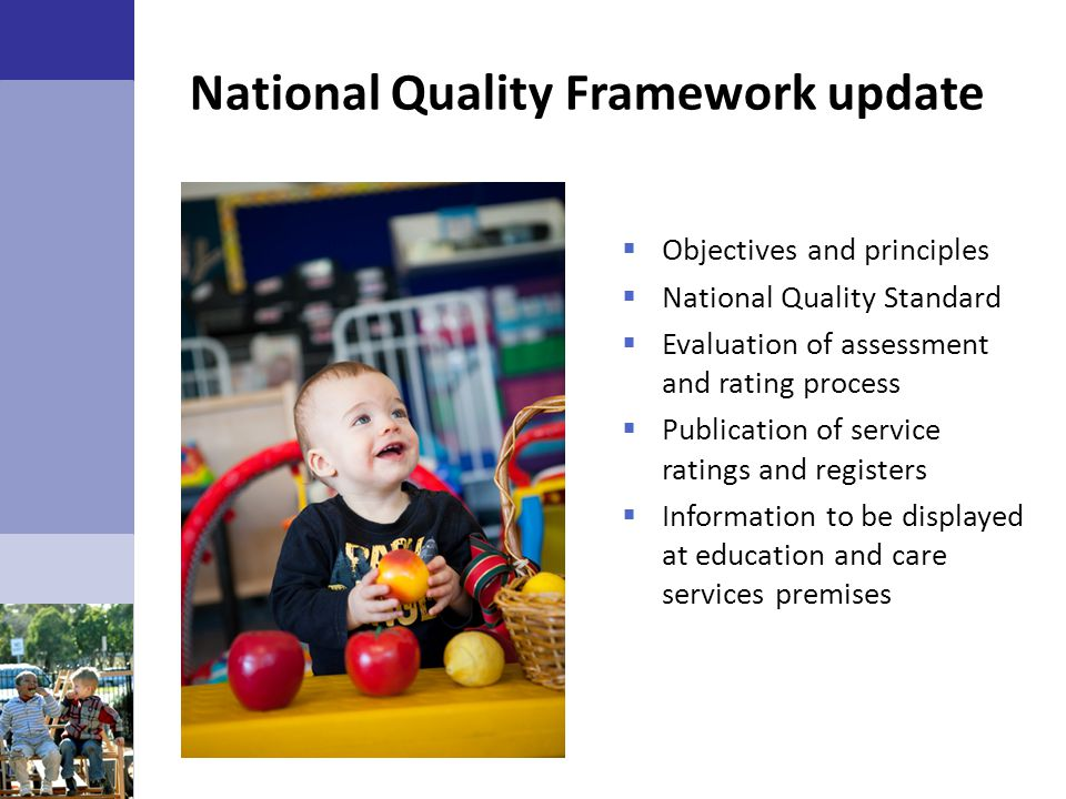 National Quality Framework update