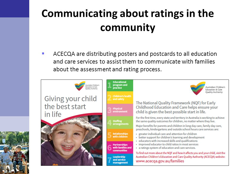 Communicating about ratings in the community
