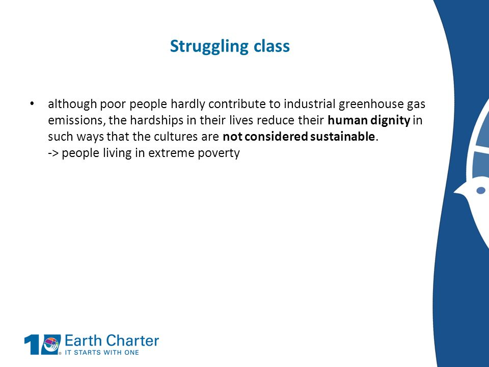 Struggling class