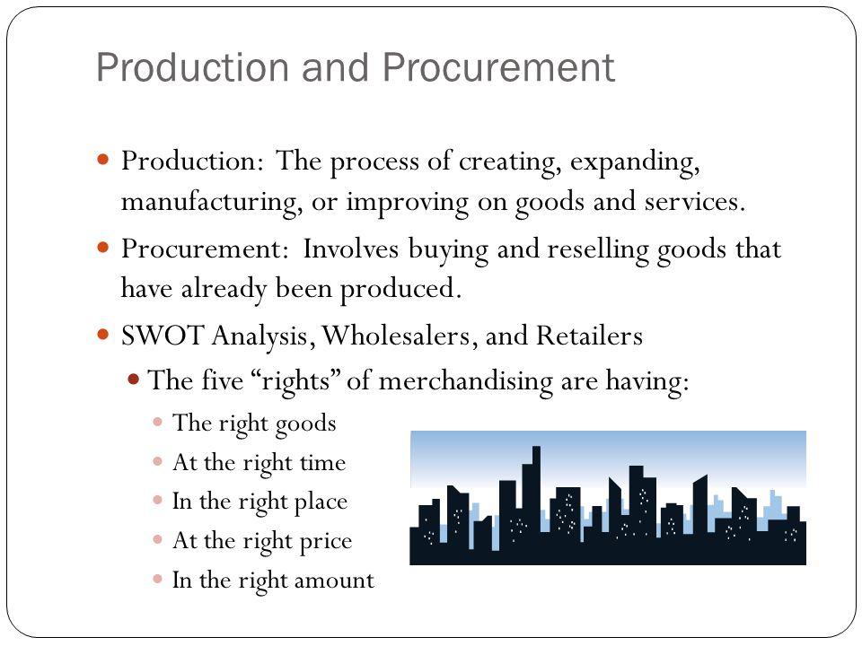 Production and Procurement