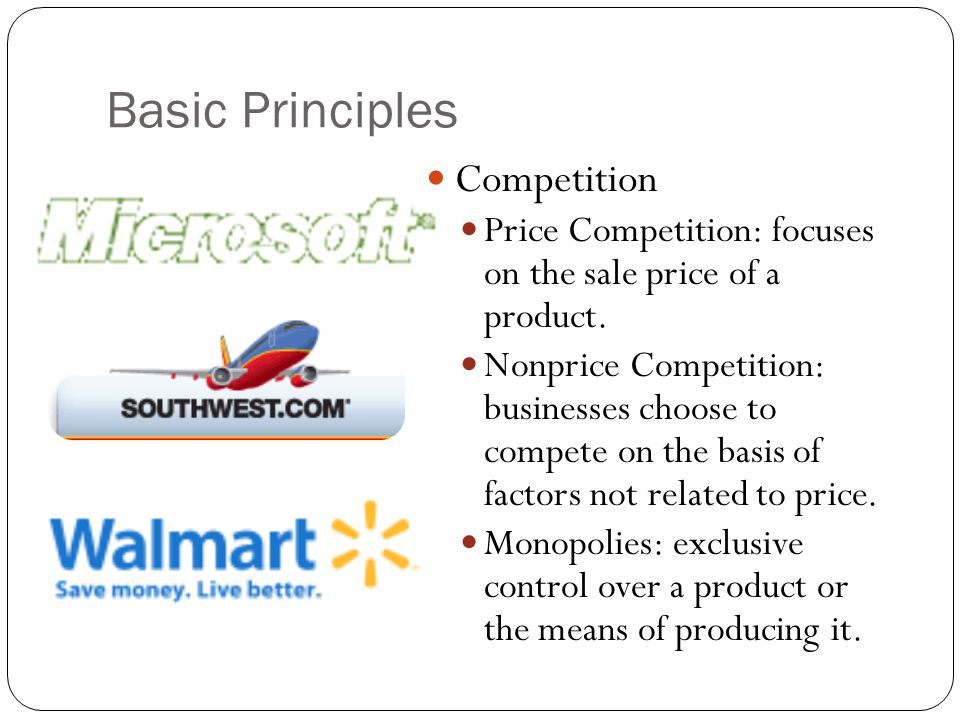 Basic Principles Competition