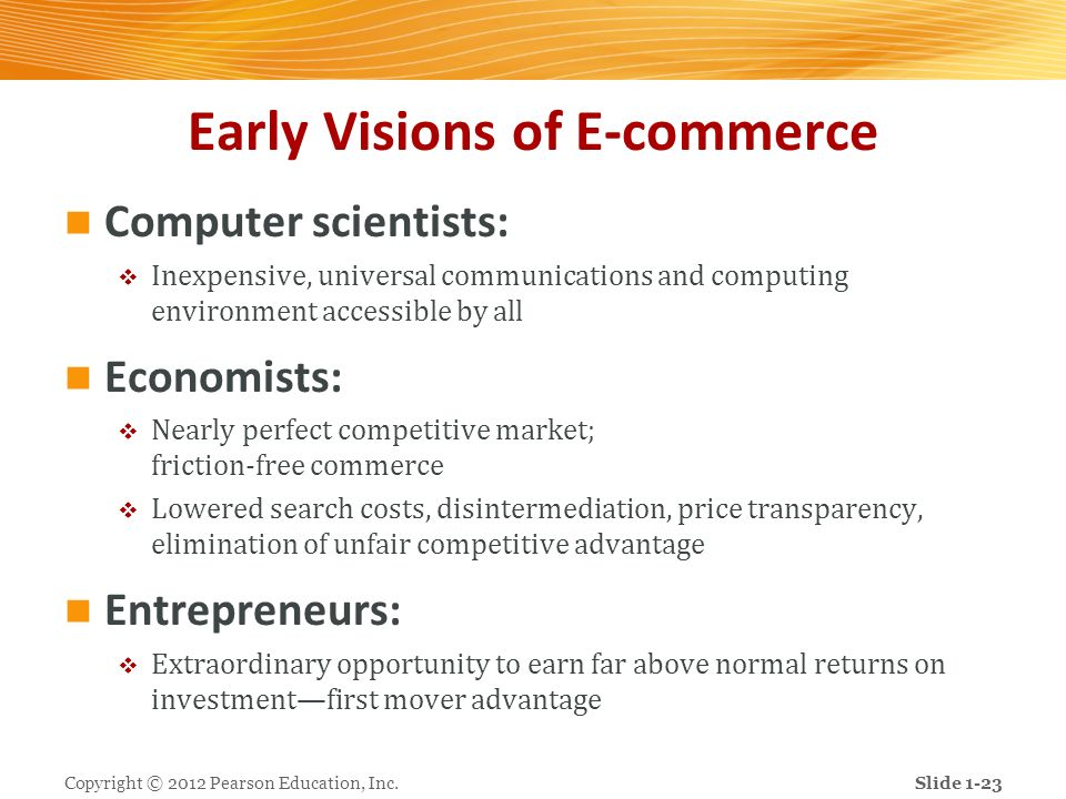 Early Visions of E-commerce