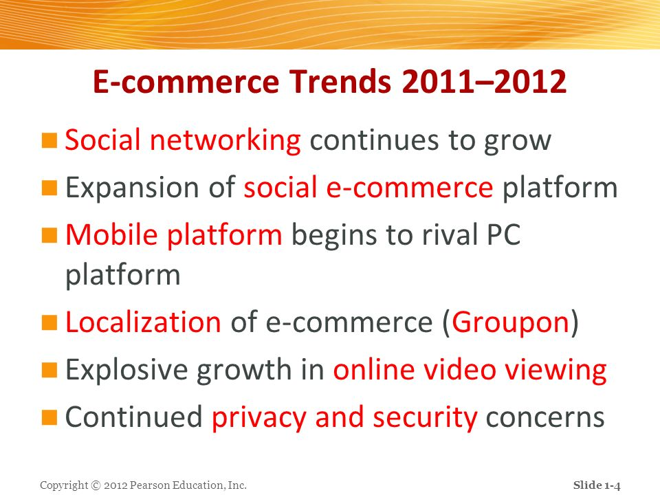 E-commerce Trends 2011–2012 Social networking continues to grow
