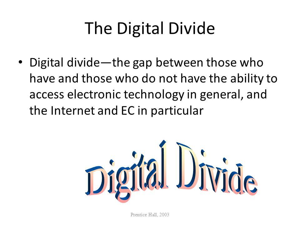 The Digital Divide Digital Divide