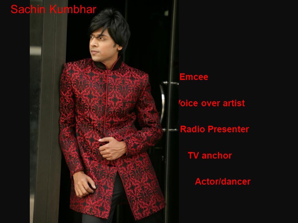 Sachin Sachin Kumbhar Emcee Voice over artist Radio Presenter C