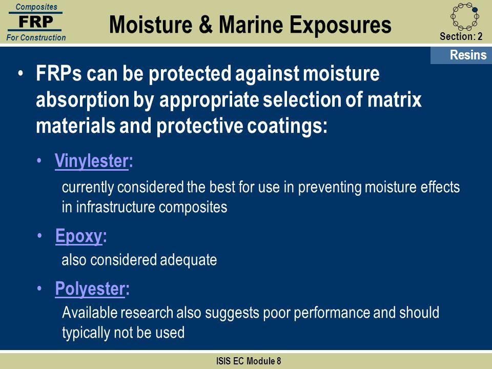 Moisture & Marine Exposures