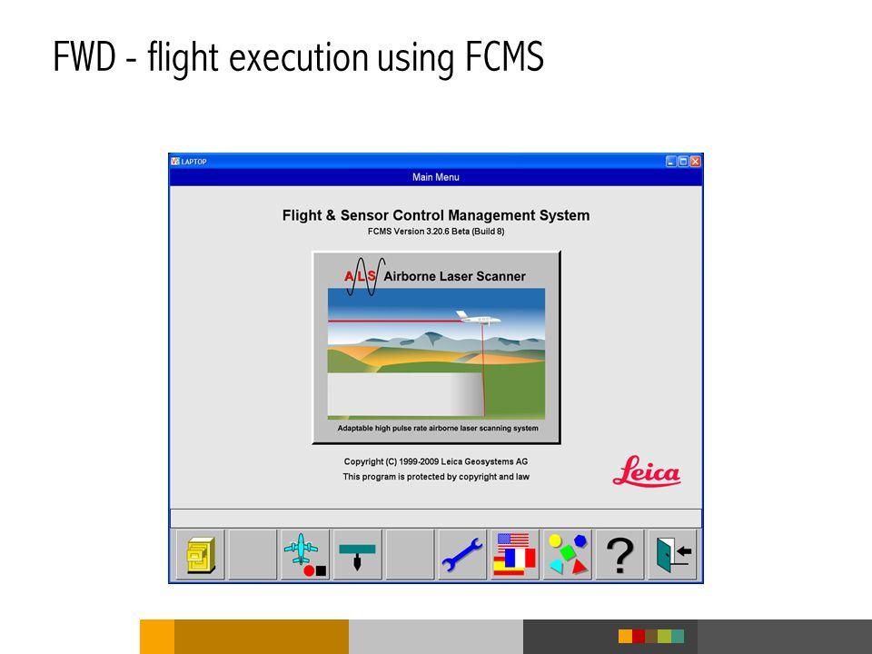 FWD - flight execution using FCMS