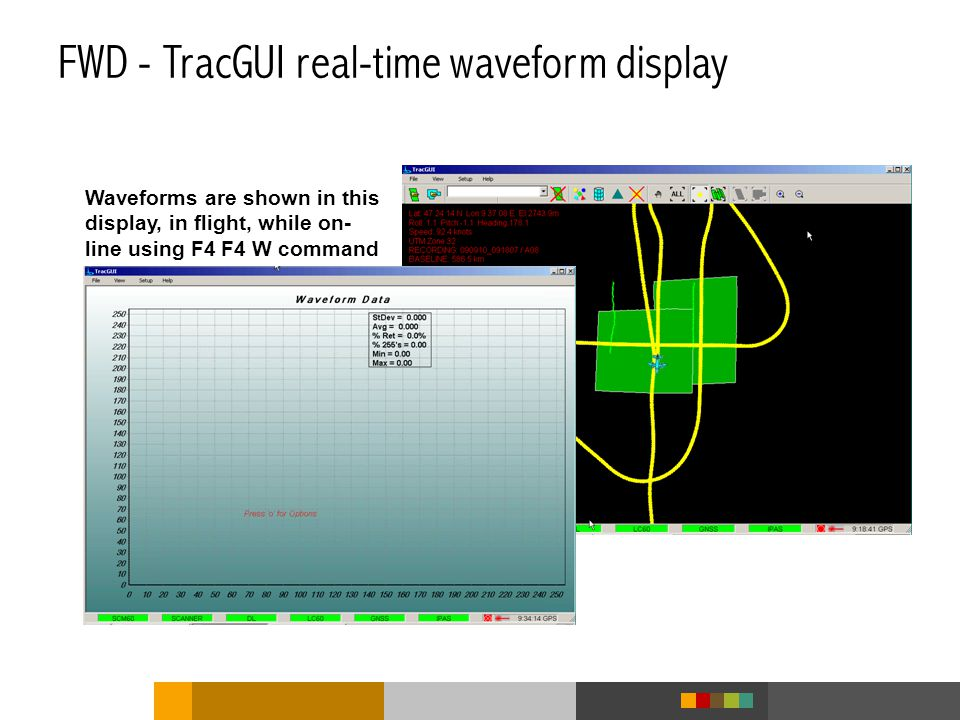 FWD - TracGUI real-time waveform display