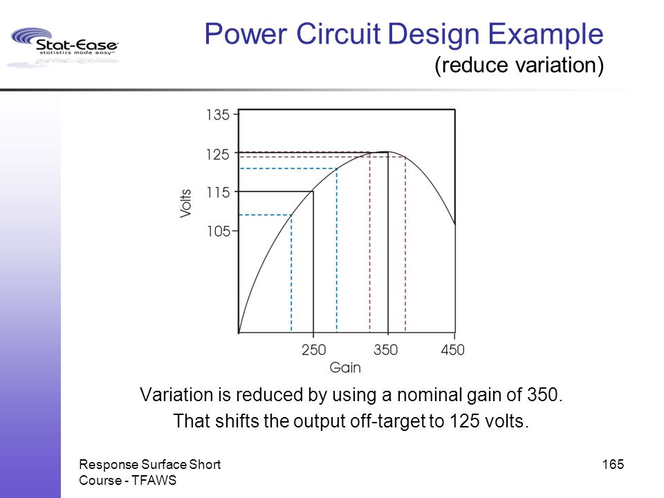 Power Circuit Design Example (reduce variation)