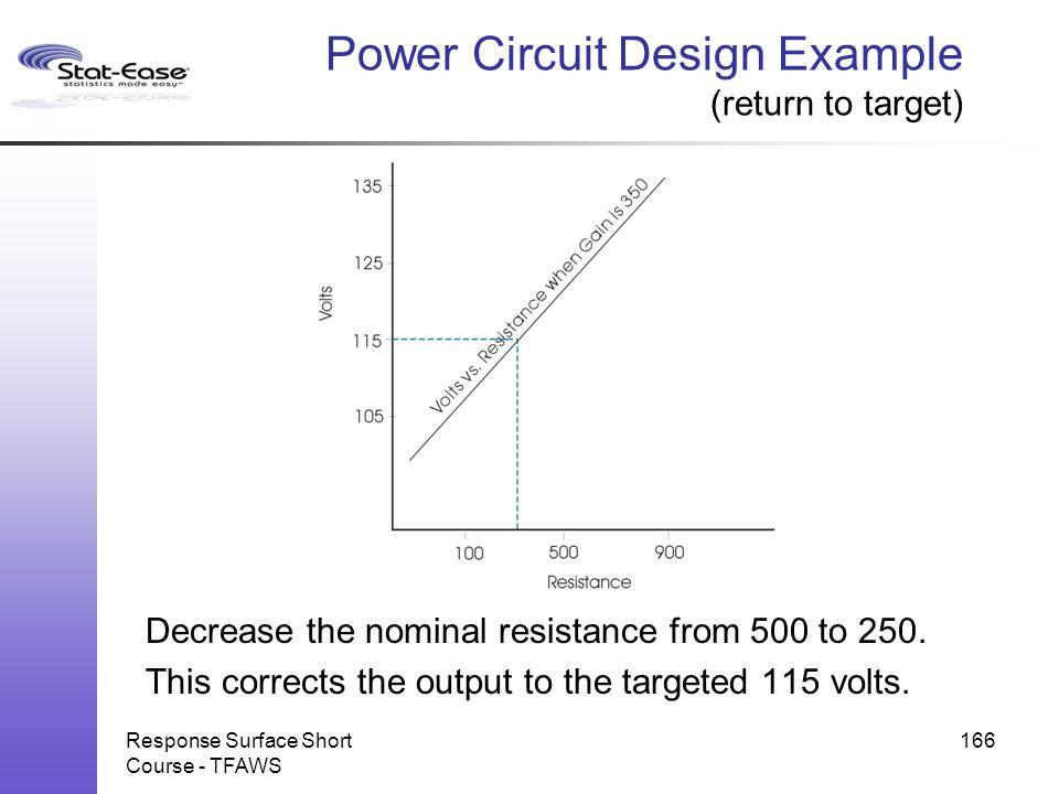 Power Circuit Design Example (return to target)