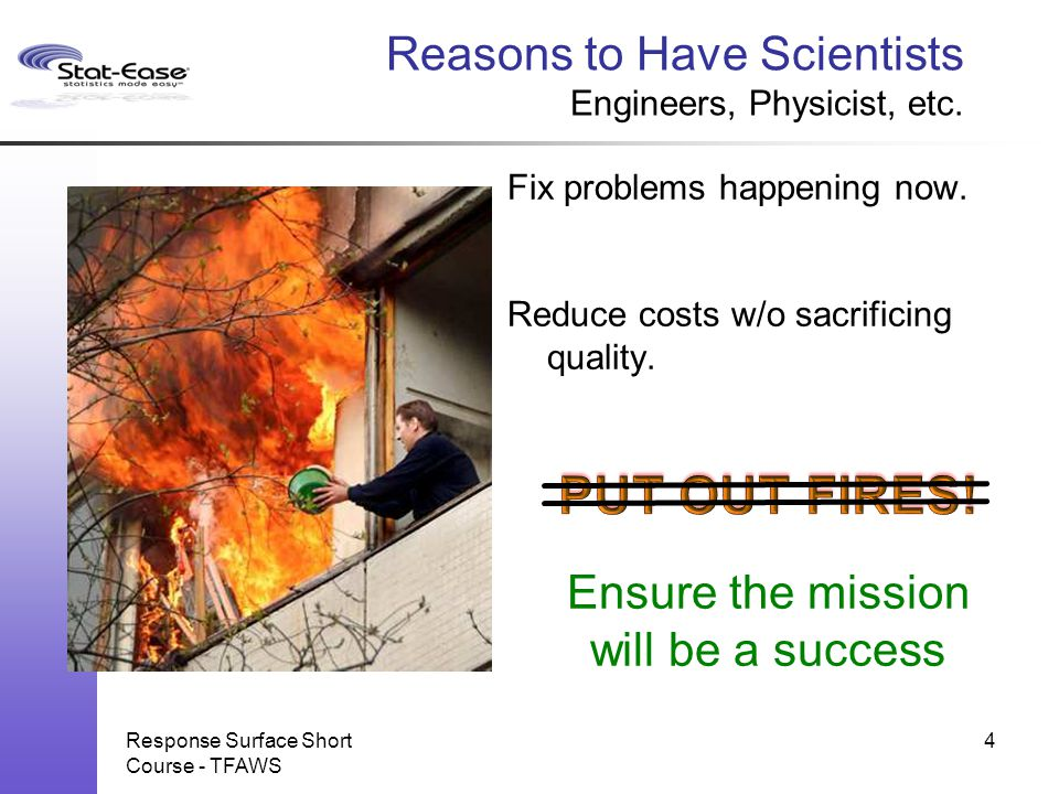 Reasons to Have Scientists Engineers, Physicist, etc.