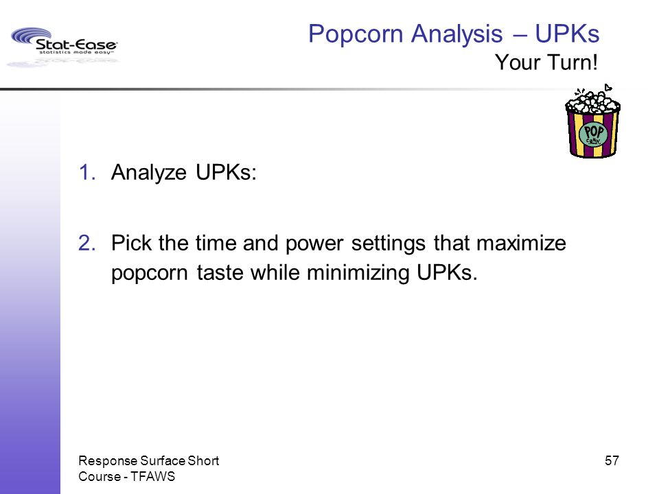 Popcorn Analysis – UPKs Your Turn!