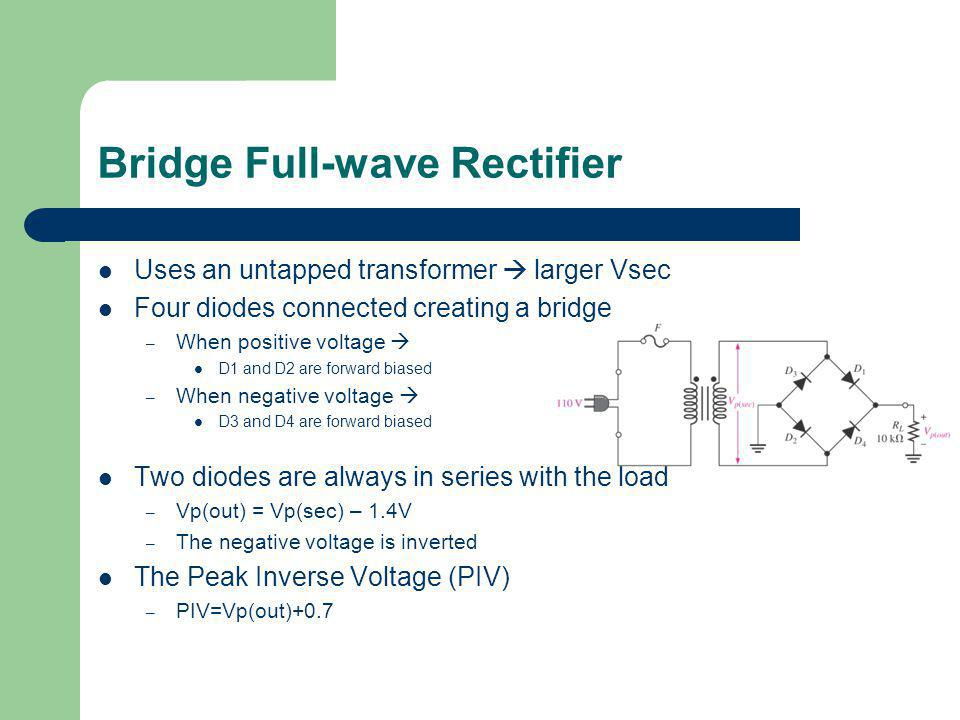Bridge Full-wave Rectifier