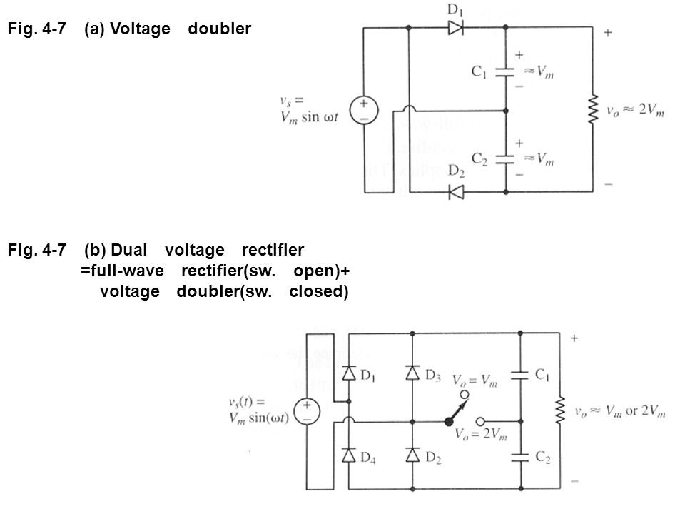 voltage doubler(sw. closed)