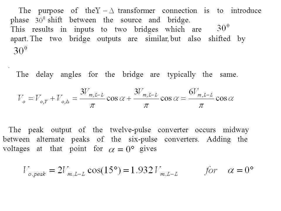 This results in inputs to two bridges which are