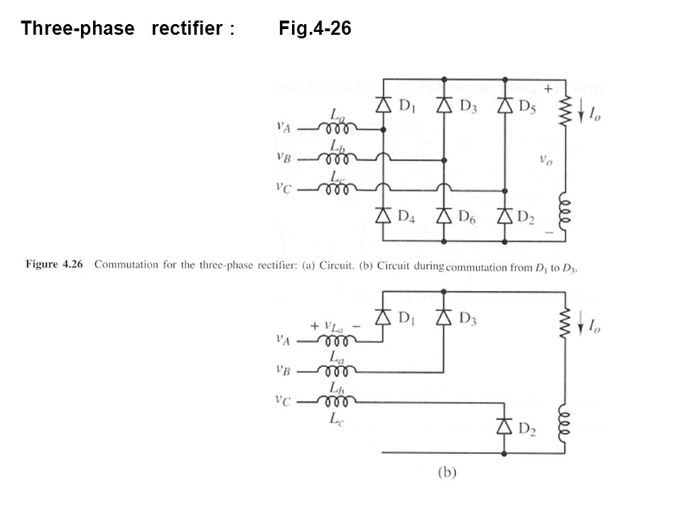Three-phase rectifier: Fig.4-26