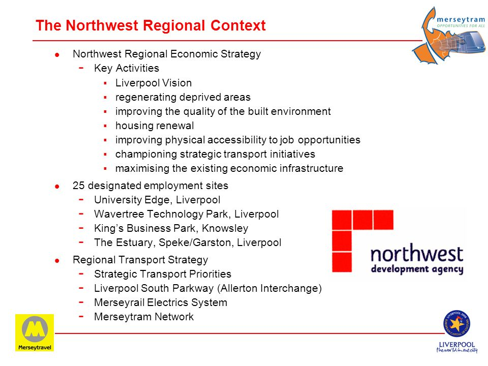 The Northwest Regional Context