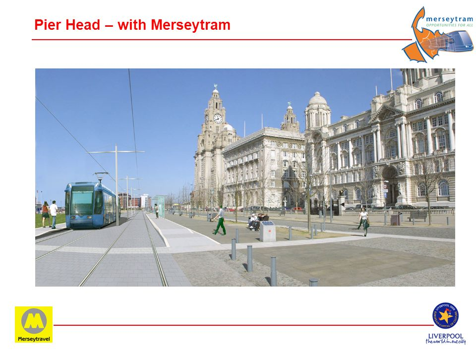 Pier Head – with Merseytram