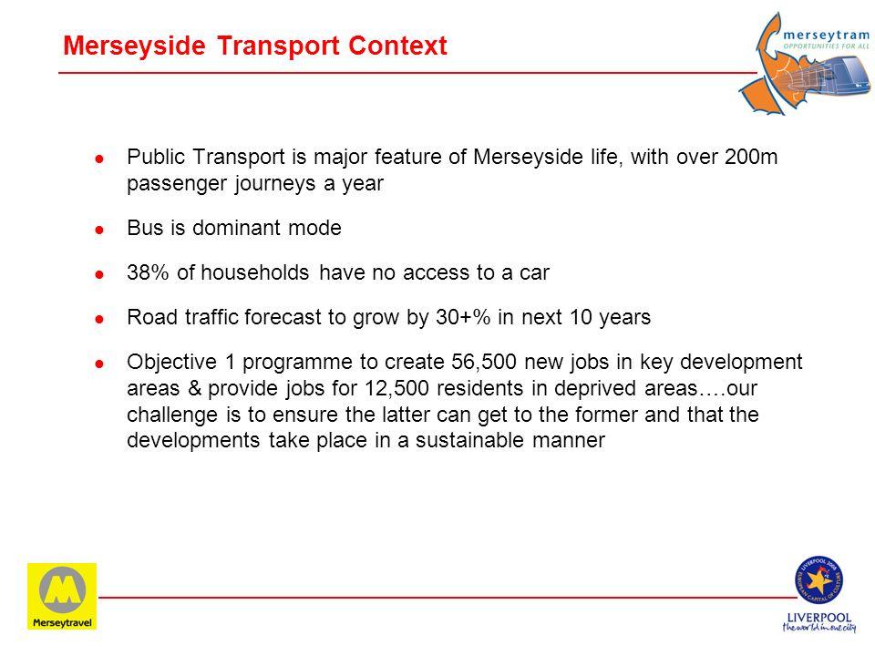 Merseyside Transport Context