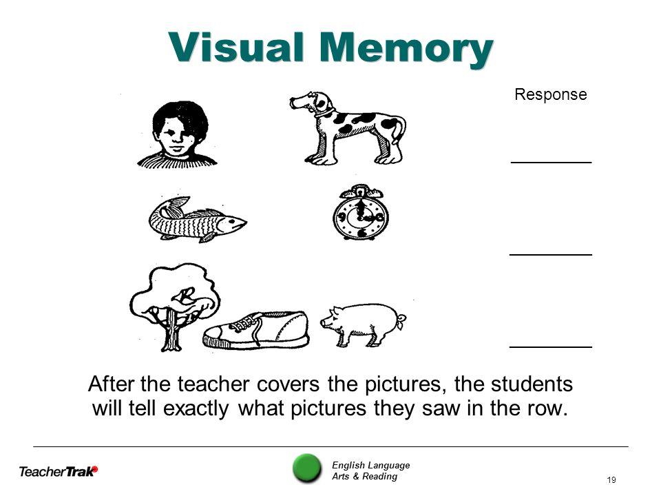 Visual Memory Response. _________. ________.