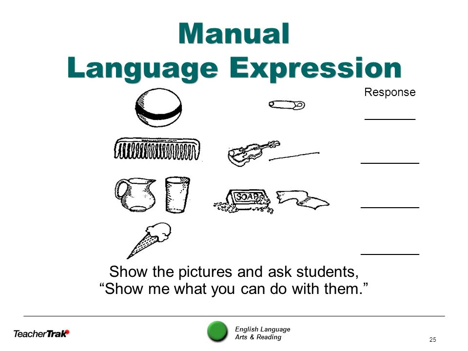 Manual Language Expression