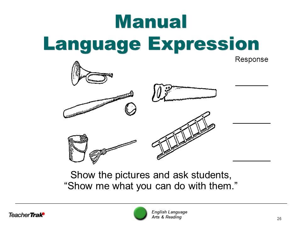 Manual Language Expression
