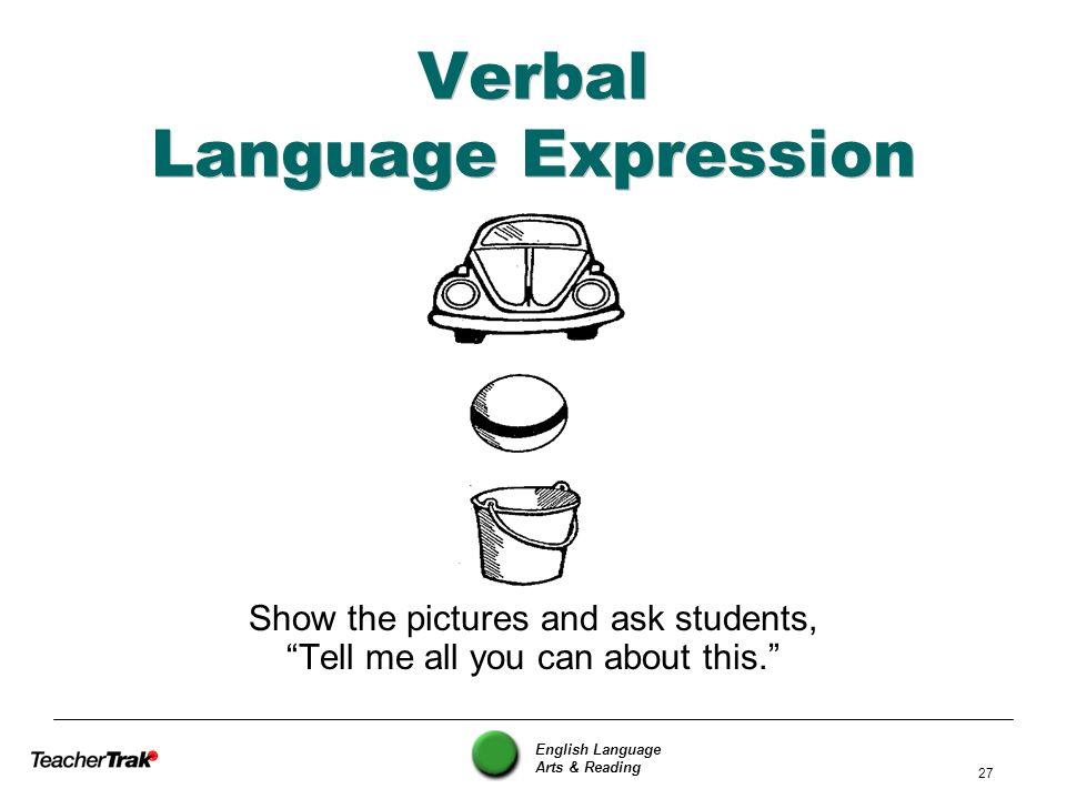 Verbal Language Expression