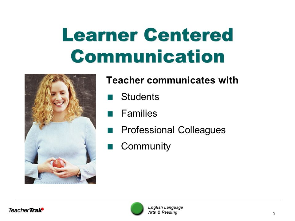 Learner Centered Communication