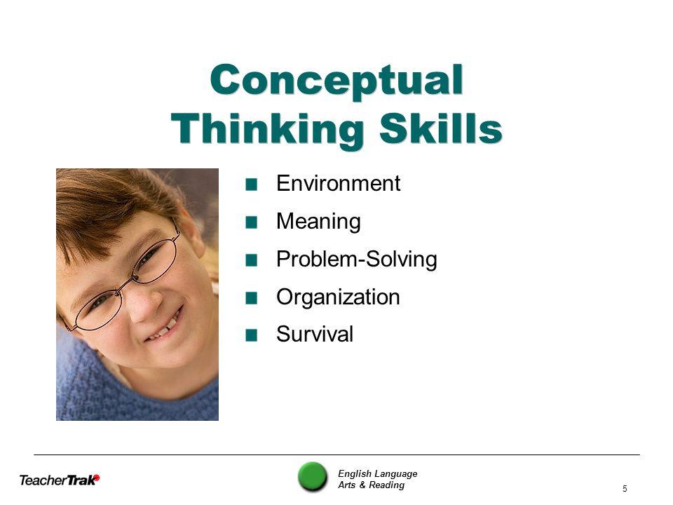 Conceptual Thinking Skills